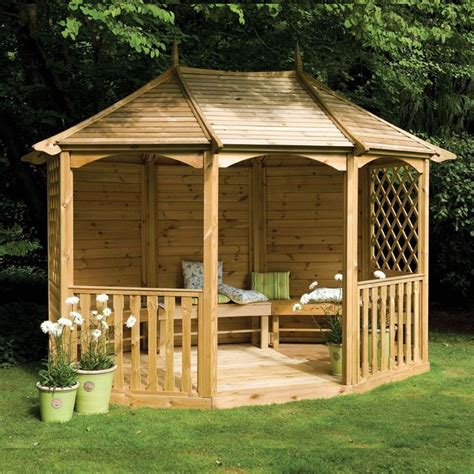 gazebo benches gazebos with seating 11 9 quot x 9 3 quot ft 3 6 x 2 8m wooden