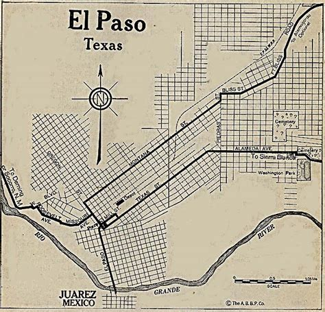 el paso texas on a map el paso county texas maps and gazetteers