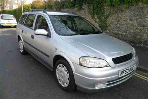 vauxhall astra automatic vauxhall astra 1 6i automatic estate car for sale