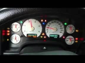 Check Gages Dodge Ram 2500 Instrument Panel Test Dodge Ram 2500 Cummins