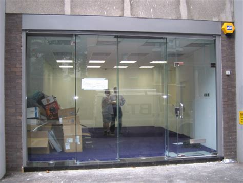Glass Door For Shop Glass Shop Fronts Toughened Glass Shopfronts