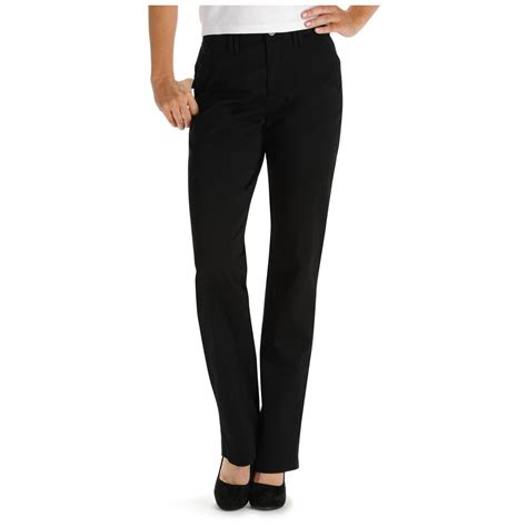 comfort pants lee 174 women s 30 quot comfort fit carden straight leg pants