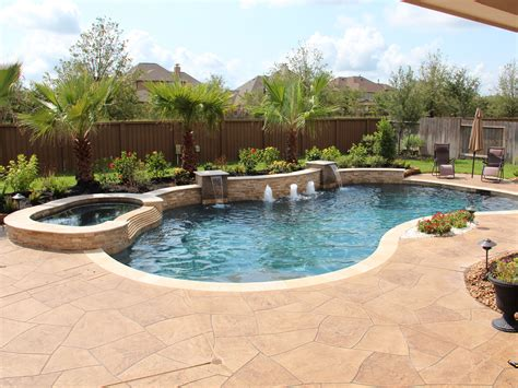 This Is The Same Pool In Image 114 Here Is A Full View Of Backyard Pool And Patio