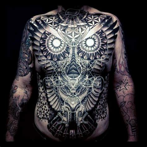 owl tattoo stomach 70 owl tattoos for men creature of the night designs