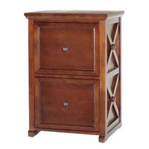 home decorators collection brexley chestnut 2 drawer file