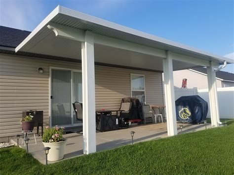 patio awning covers patio covers awnings louvered roofs more falls id