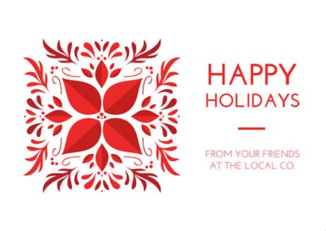 Canva Happy Holidays | happy holidays company greeting postcard templates by canva