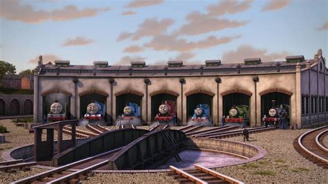 Tidmouth Shed by Tidmouth Sheds The Tank Engine Wikia Fandom