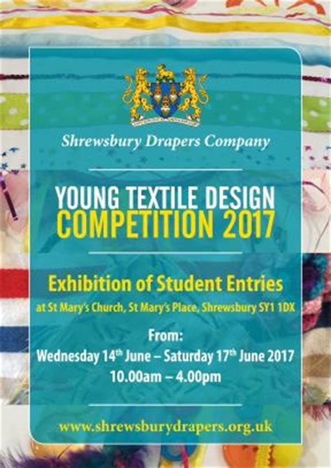 young design competition 2017 young textile design competition shrewsbury drapers