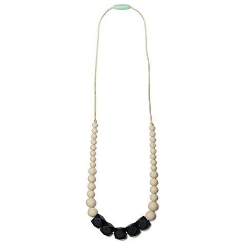 48 silicone teething nursing necklace