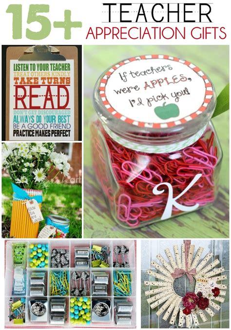 Gift Ideas For Teachers - appreciation gift ideas