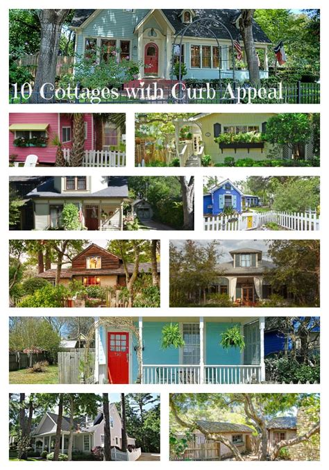 Add Curb Appeal - 10 cottage homes with curb appeal