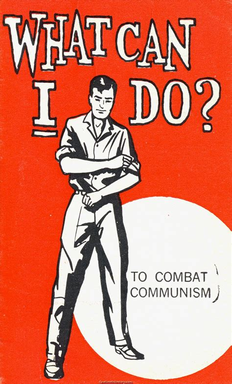 what can i do to fight communism c 1962