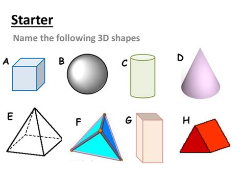 shapes worksheets ks3 ks3 3d shapes and nets lesson plan by alex1607