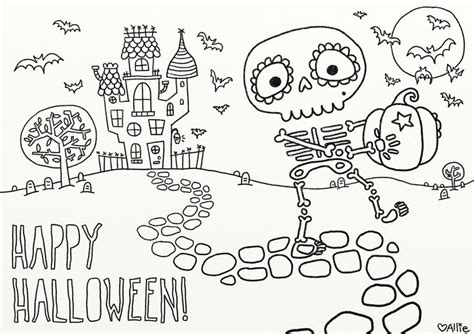 printable coloring pages for adults halloween 9 fun free printable halloween coloring pages