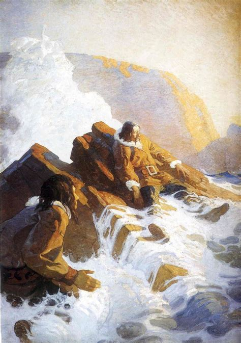 Painting C by 61 Best Images About N C Wyeth On Museums