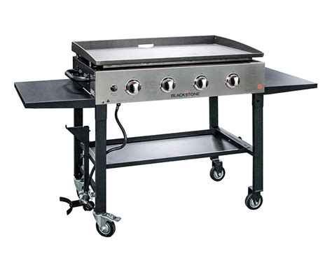 blackstone table top griddle 22 tabletop griddle with stainless steel front plate
