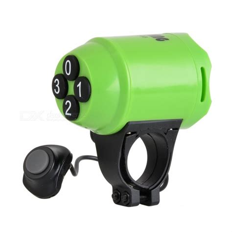 Sunding Waterproof Bicycle Alarm Horn sunding sd 603 abs bicycle horn and electron loud alarm green free shipping dealextreme