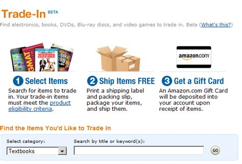 Trade Gift Cards For Amazon Credit - amazon launches electronics trade in store gives you credit for your gadgets geek com