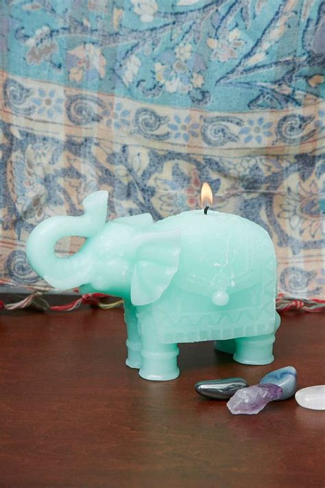 elephant home decor elephant candle chez moi elephant home decor candles