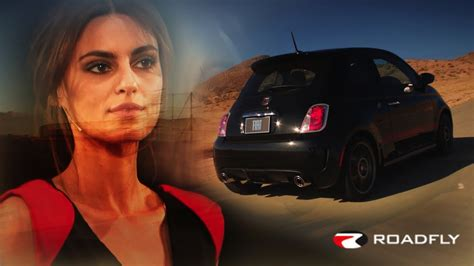 Catrinel Menghia Fiat by Fiat Abarth And Supermodel Catrinel Menghia By Roadflytv