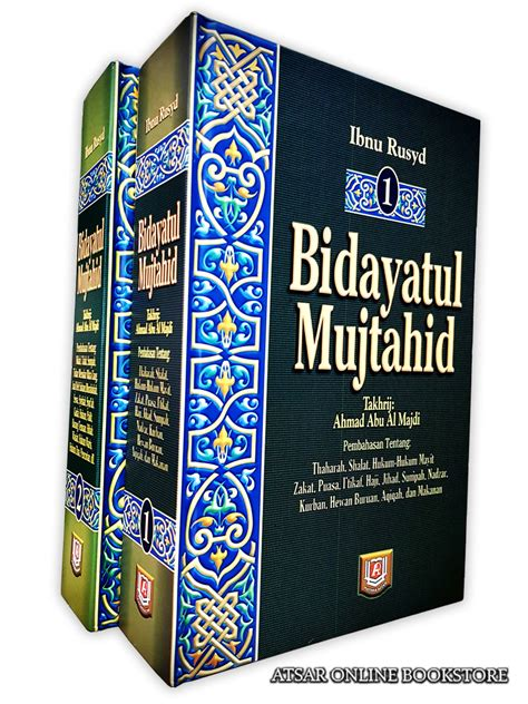 Bidayatul Mujtahid Ibnu Rusyd 1 Set 2 Jilid Ori Pustaka Al Kautsar bidayatul mujtahid karya ibnu rusyd