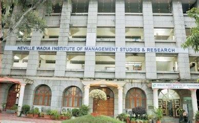Wadia College Pune Mba by Neville Wadia Institute Of Management Studies Research Pune