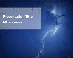 Free Storm Powerpoint Template Microsoft Powerpoint Templates With