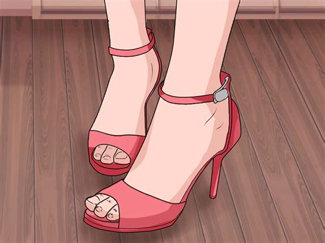 high heels 3 ways to choose high heels wikihow