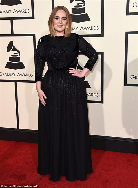 adele grammys dress 2013 see the singer s red carpet look grammys red carpet sees adele look elegant in glittery