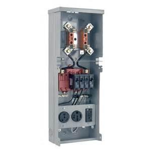 Electrical Pedestal Box Shop Milbank Rv Power Outlet Gray Steel Weatherproof
