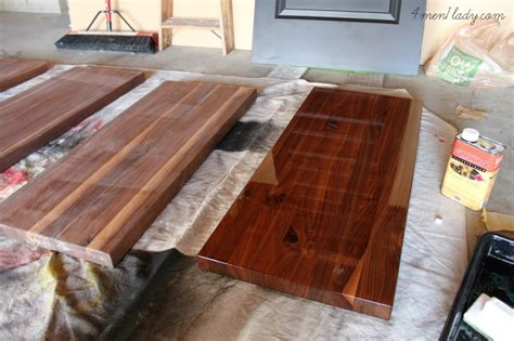 Waterlox Butcher Block Countertop by Wood Counters