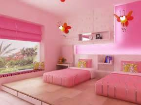 Decorating Ideas For Girls Bedroom Interior Design Decorating Ideas Beautiful Twin Girl