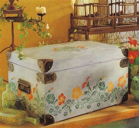 painting wood furniture ideas wooden furniture decoration with stencils 15 furniture