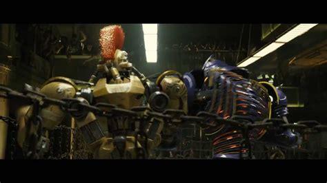 film robot ze stali giganci ze stali demolka kontra midas youtube