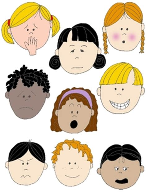 clipart emotions feelings clipart