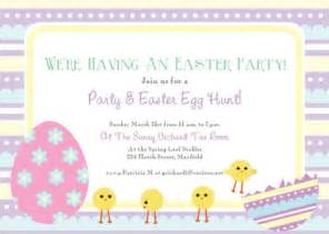 Easter Invitation Templates by Free Printable Easter Cards Invitations