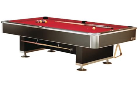 professional pool table size murrey 9800 pro