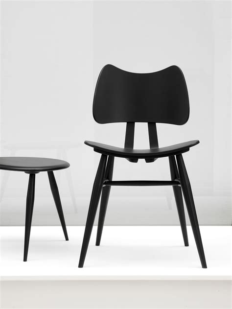 Butterfly Chair Ercol by Butterfly Chair Wood Reissue 1958 Black By Ercol