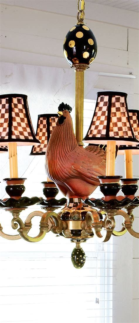 rooster chandeliers mackenzie childs rooster chandelier rustic home decor