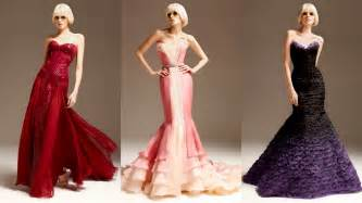 frills and thrills atelier versace evening gowns