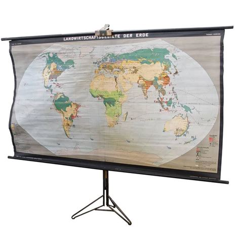 what does map stand for german map poster stand holder with world economy map for sale at 1stdibs