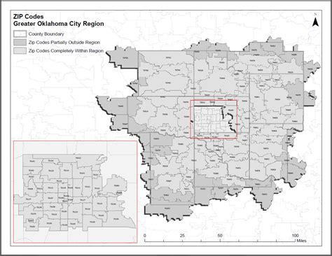 oklahoma city zip code map greater oklahoma city economic development local map