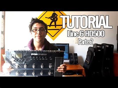 wah pedal tutorial line 6 pod hd500 tutorial quot asignaci 243 n de efectos
