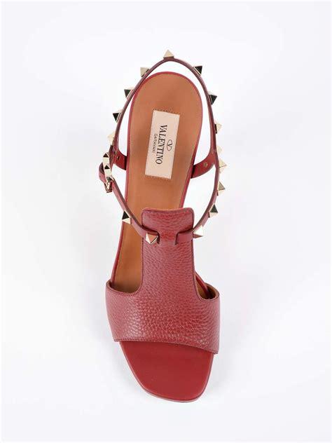 valentino garavani valentino garavani studded sandals