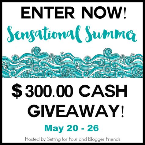 Summer Cash Giveaway - seaside tablescape giveaway redhead can decorate