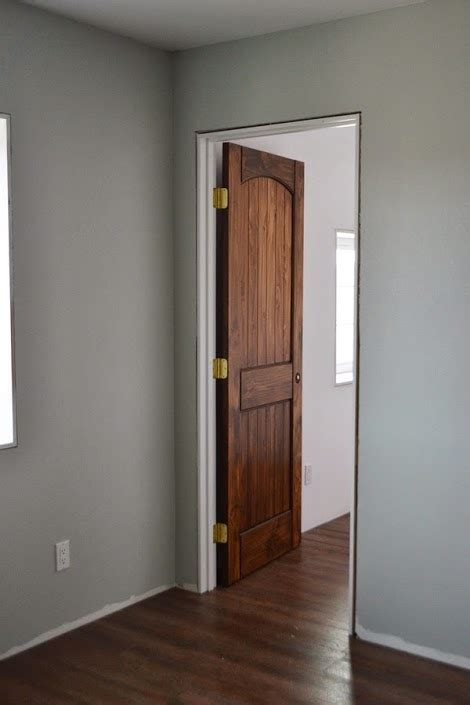 staining interior doors white woodworking projects