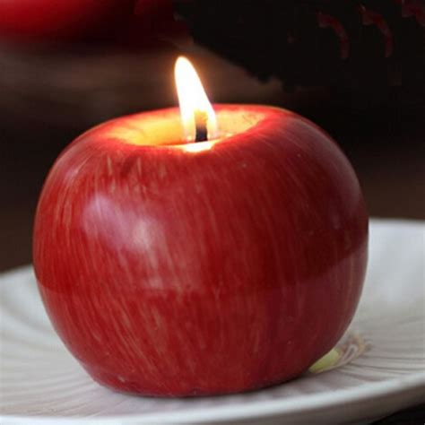 apple candle l birthday day
