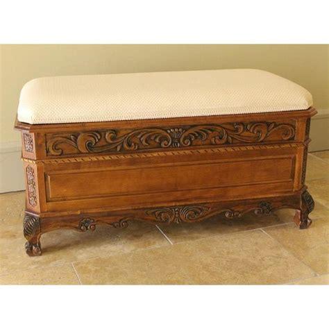 hope chest bench international caravan ornate hope chest bench www