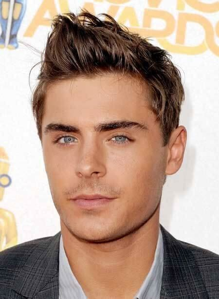 round face male celeberties the best hairstyles for round faced men